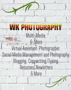 WK Photography, Multi-Media and More in Menominee Michigan - Logo